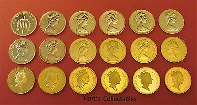 STUNNING PROOF ONE PENCE (1p) COINS ALL COINS ARE  FROM PROOF SETS