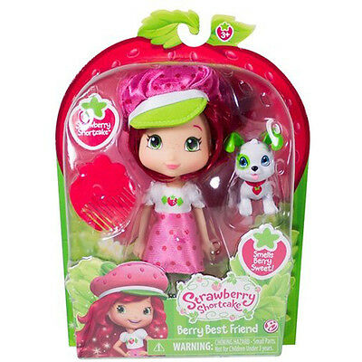 Strawberry Shortcake-Berry Best Friend Doll, 6 Inches | THE BRIDGE DIRECT 12231