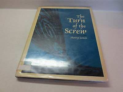 The Turn of the Screw by Henry James Large Print Keith Jennison Books vintage hb