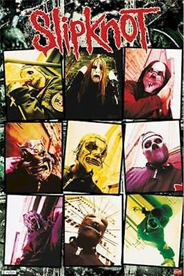 SLIPKNOT ~ COLORS 22x34 MUSIC POSTER Shawn Crahan NEW/ROLLED!