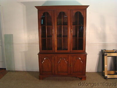 40940:Pennsylvania House Solid Cherry China Cabinet
