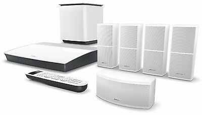 New Bose Lifestyle 600 Home Entertainment System Theater Soundtouch - White