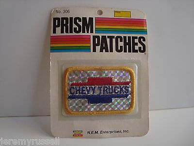 Factory Sealed Vintage 1970's Chevy Trucks Reflective Prism Patch