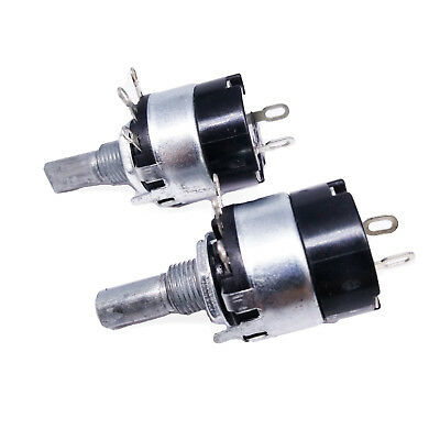 US Stock 2pcs 10K ohm B10K Linear Potentiometer ON/OFF Switch WH137-2 RV137-2
