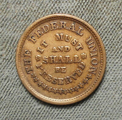 Civil War Patriotic 224/322 Army & Navy - The Federal Union Rarity-2