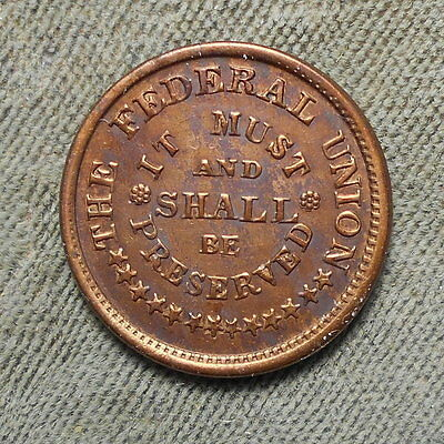Civil War Patriotic 224/325 It Must And Shall Be Preserved R-2 Sharp Strike