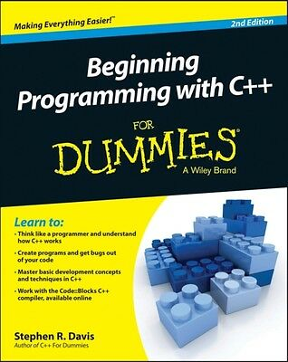 Beginning Programming with C++ For Dummies (For Dummies (Computers)) (Paperback)
