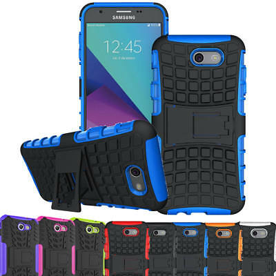 Rugged Hard Armor Case Shockproof Cover For Samsung Galaxy J7 2017 / J7 Sky Pro