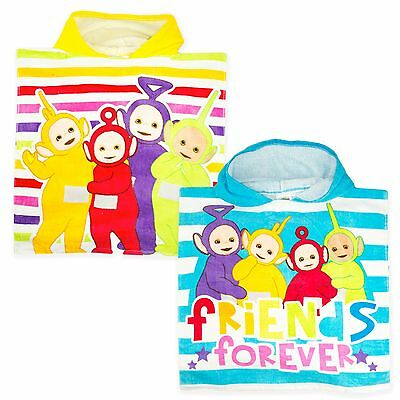 Teletubbies Licensed Kids Hooded Poncho Towel. Bath and Beach time New 2017