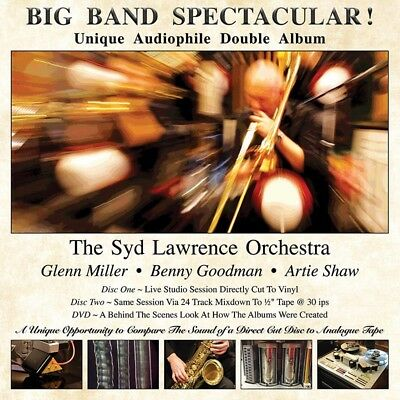 The Syd Lawrence Orchestra - Big Band Spectacular! 2x 180g Vinyl LP + DVD