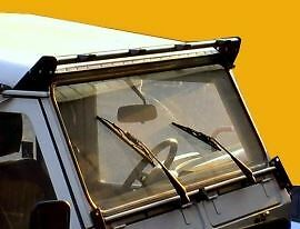 Light Roof Bar Land Rover Defender Roof Mounted Fitting 4 Spot Light