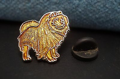 Red CHOW CHOW Dog Metal Tie Tac Hat Pin