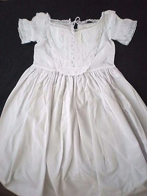 Antique Vintage Baby's Christening Gown - Lovely Detail (L)
