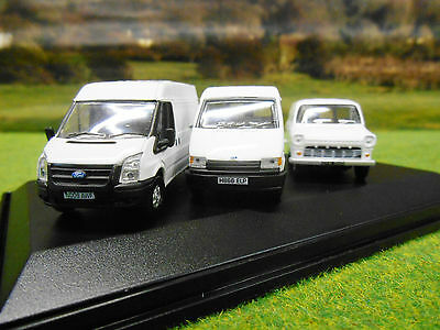 OXFORD FORD TRANSIT 3 VAN 50th ANNIVERSARY SET MK 1 3 & 5 1/76 76SET37