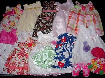 Used Baby Girl Dress Spring Summer Outfit 18-24 Months Clothes Lot