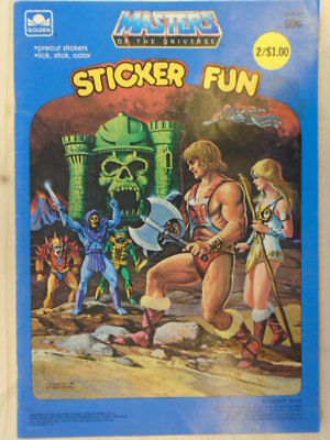 Masters of the Universe Sticker Fun by Golden Book