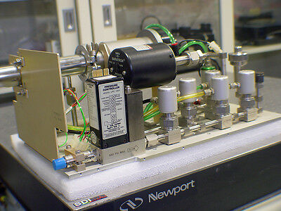 MKS Unit Swagelok High Vacuum Assembly with 127AA Baratron UPC-1300 Controller