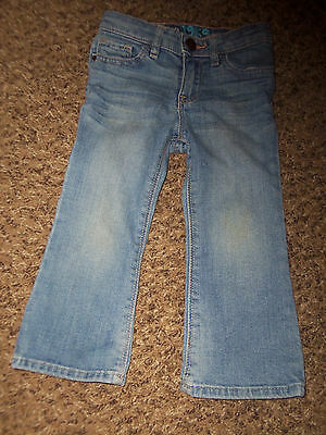 BABY GAP CUTE BOOT JEANS SIZE 2 years