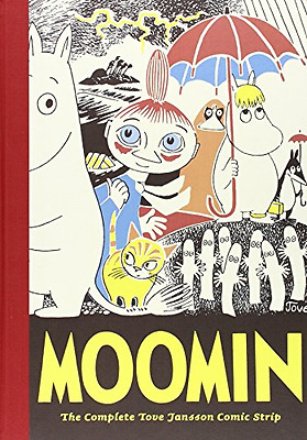 Moomin: The Complete Tove Jansson Comic Strip - Book On - Hardcover NEW Jansson,