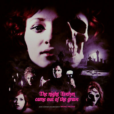 Bruno Nicolai - OST The Night Evelyn Came Out (Vinyl 2LP - 2017 - US - Original)
