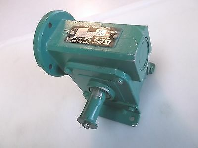 Leroy Somer Right Angle Gear Reducer 6R0706 MUA-SI-MU6 10:1 New