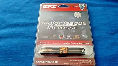 """EFX Bracelet Wristband LACROSSE Bowling Sports Authentic! ROCHESTER RATTLERS 8"""""""
