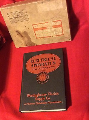 1941 NIB Westinghouse Electric Supply Co.,Electrical Apparatus Supplies,Catalog
