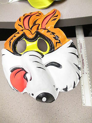 halloween mask 1970s Roadrunner WILE E COYOTE Warner Brothers cartoon