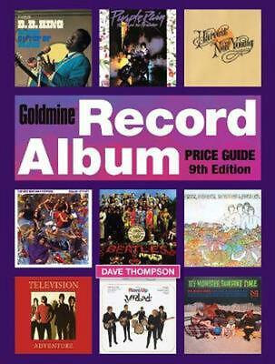 Goldmine Record Album Price Guide by Dave Thompson Paperback Book Free Shipping!