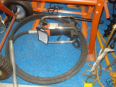 "NEW 2.2 HP CONCRETE VIBRATOR 18' 5"" Long Shaft 4000 RPM"
