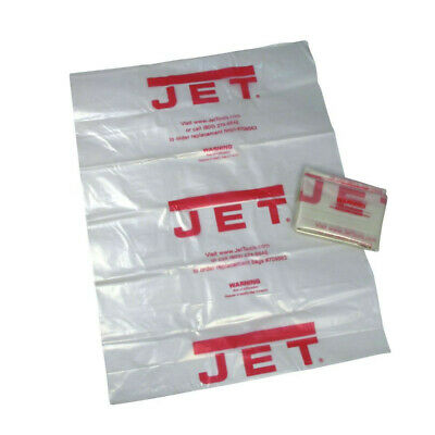 "JET CB-5 20"" Clear Plastic Collection Bag(5pk) 709563 New"