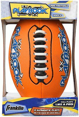 Franklin Sports Mini Playbook Football With Spacelace Colors Vary Unique Size