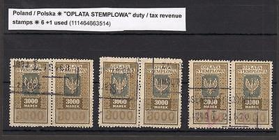 Collection Of Poland Revenues / Fiscals