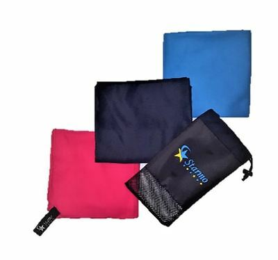 Starmo Quick Dry Sports Travel Microfibre Towel Lightweigt Bag Absorbent Large