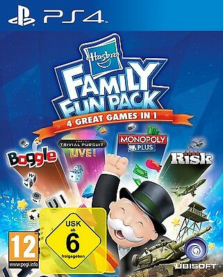 Hasbro Family Fun Pack - PS4 Playstation 4 Spiel - NEU OVP