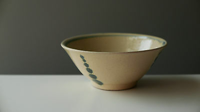 Japanese YONESHI MATSUDA studio pottery Stoneware TEA BOWL from OKINAWA