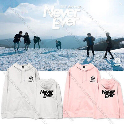 KPOP GOT7 Sweater FLIGHT LOG ARRIVAL Cap Hoodie Jackson Never Ever Bambam Mark