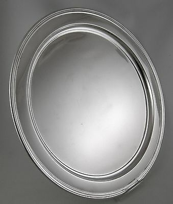 Sterling Tiffany MAKERS 20220 large cocktail tray (1923) 13""