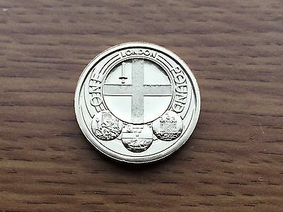 2010 £1 BU Coin - London - Royal Mint One Pound UNC Uncirculated