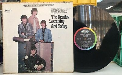 BEATLES YESTERDAY AND TODAY 2nd STATE STEREO BUTCHER LP CAPITOL ST-2553