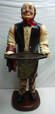 Connoisseur Statue - Old Man Butler Waiter LOCAL PICK UP ONLY