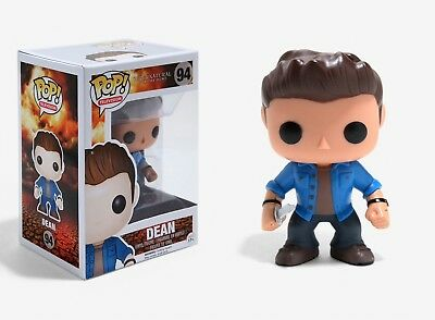 Funko Pop TV Supernatural Dean Vinyl Action Figure 3736 Collectible Toy, 3.75""