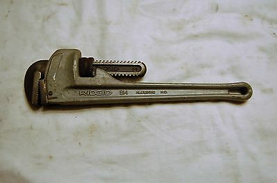 "Ridgid 14"" Aluminum Pipe Wrench 814"