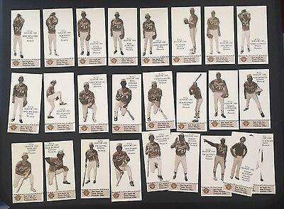 1980 Valley National Bank Phoenix Giants Pcl Complete Set Of Baseball Cards Rare