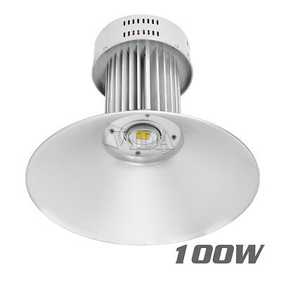 100W Watt LED High Bay Light Bright White Lamp Lighting Fixture Factory Industry