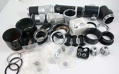 Lot of Leica Camera and Lens Parts