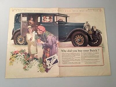 1927  Buick Advertisement 'why Did You Buy A Buick'
