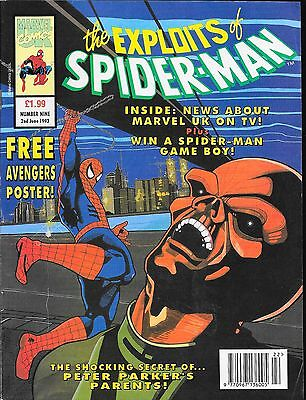 The Exploits of Spider-Man No.9 / 1993