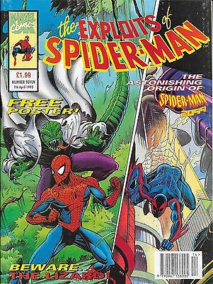 The Exploits of Spider-Man No.7 / 1993