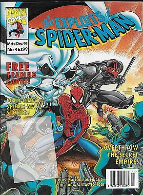The Exploits of Spider-Man No.3 / 1992